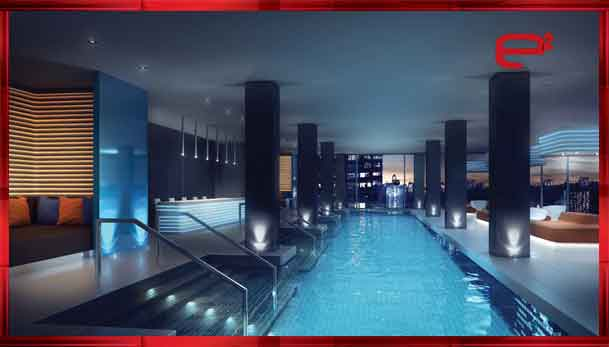 Infinity Glass Swimming Pool